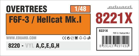 F6F-3 / Hellcat Mk.I OVERTREES 1/48