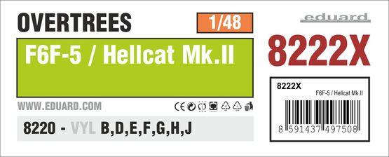 F6F-5 / Hellcat Mk.II OVERTREES 1/48 1/48