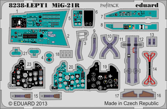 MiG-21R PE-set 1/48  - 1