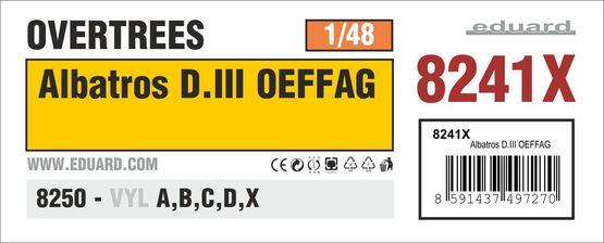 アルバトロス D.III OEFFAG オーバーツリーズ 1/48