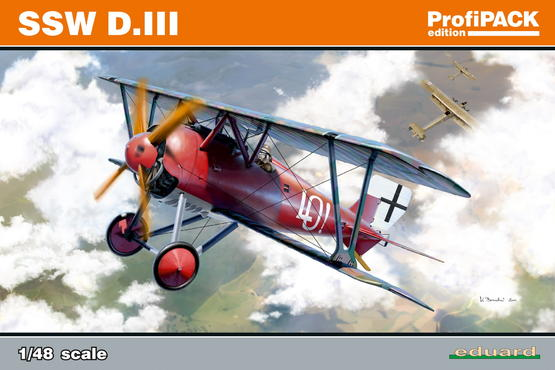 SSW D.III  (reedition) 1/48