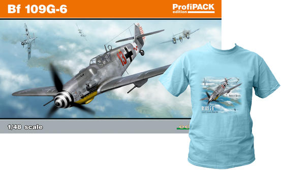 Bf 109G-6 +T-Shirt L 1/48  - 1