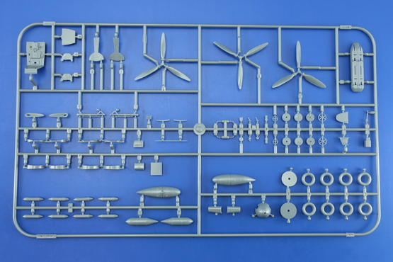 Bf 109G small parts OVERTREES  1/48 1/48  - 1