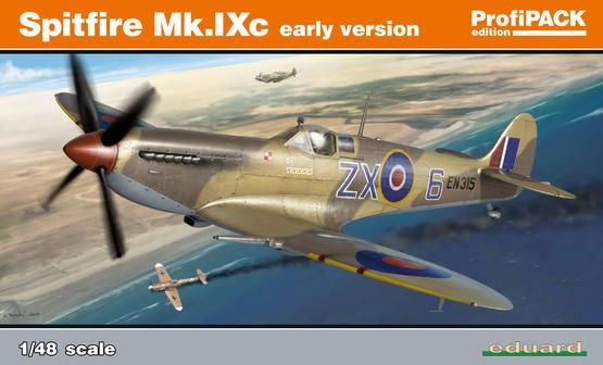 Spitfire Mk.IXc raná verze 1/48