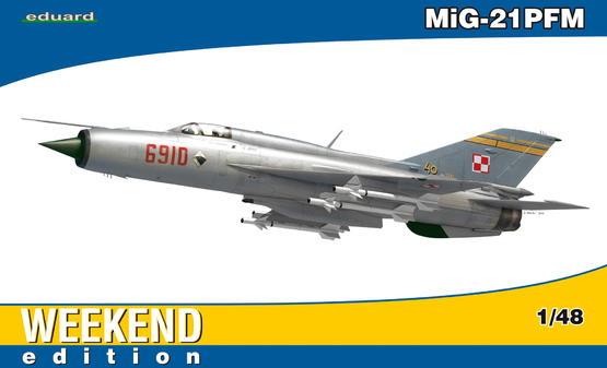 MiG-21PFM 1/48
