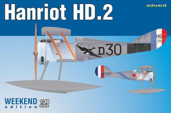 Hanriot HD.2 1/48