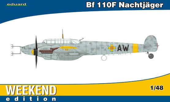 Bf 110F Nachtjäger 1/48