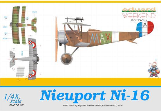 Nieuport Ni-16  MAX 1/48