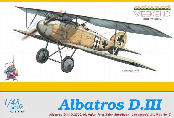 Albatros D.III 1/48