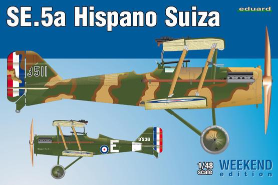 SE.5a Hispano Suiza 1/48
