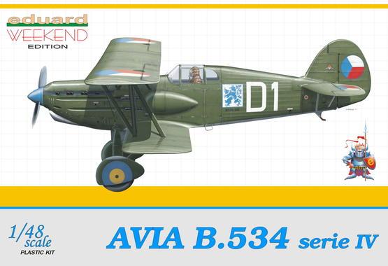 Avia B-534 IV serie 1/48