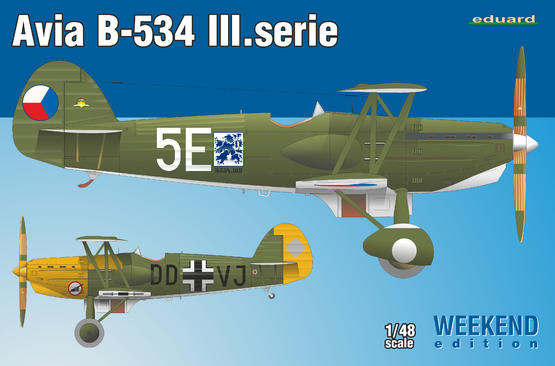 Avia B-534 III.serie 1/48