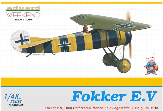 Fokker E.V 1/48