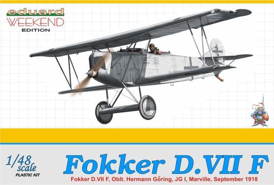 Fokker D.VIIF Herman Göring 1/48