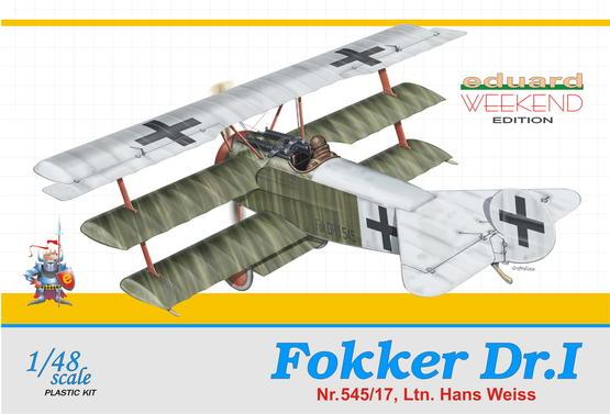 Fokker Dr.I - Hans Weiss 1/48