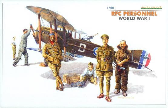 RFC Personnel WWI 1/48