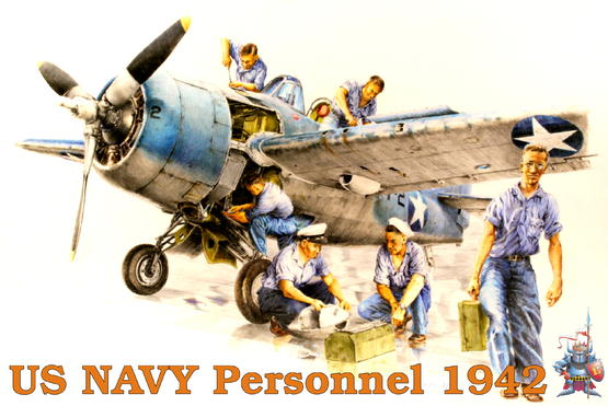 US NAVY Personnel 1942 1/48