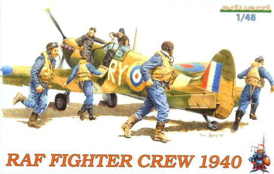 Stíhací letci RAF 1940 1/48