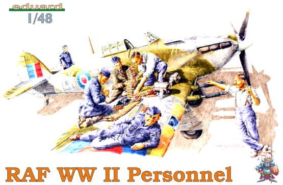 RAF WWII PERSONNEL 1/48