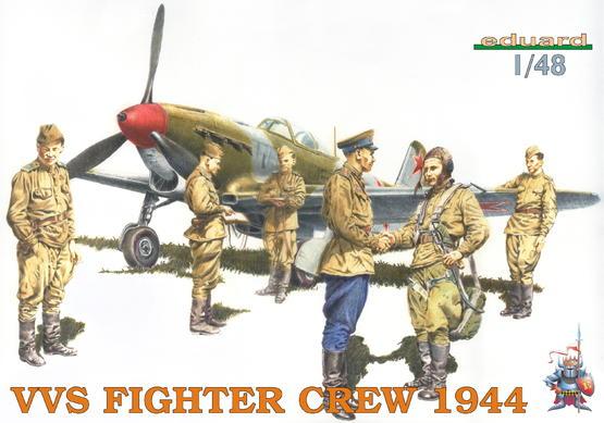VVS Fighter Crew 1944 1/48