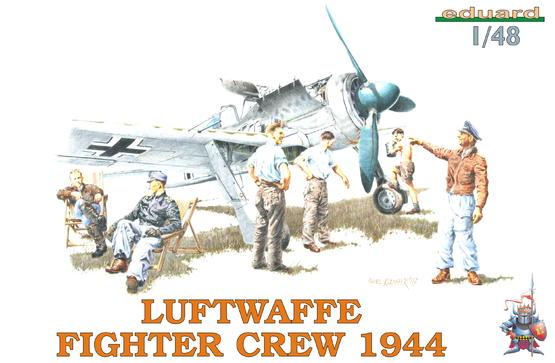 LUFTWAFFE FIGHTER CREW 1944 1/48