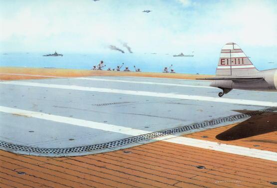 IJN Aircraft Carrier Deck WWII 1/48