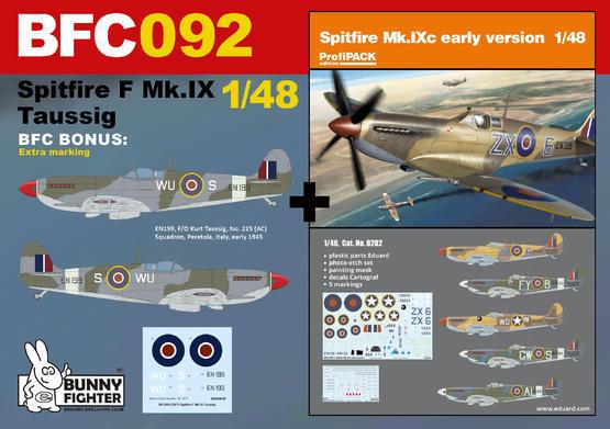 Spitfire F Mk.IX Taussig 1/48  - 1