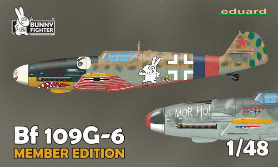 Bf 109G-6 Dual Combo + T-shirt XXL 1/48  - 1