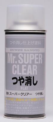 Mr.Super Clear Flat - lak matný 170ml