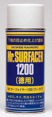 Mr.Surfacer 1200 - tmel stříkací 170ml