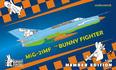 MiG-21MF Bunny Fighter Club + T-shirt XXL 1/48 - 1/4