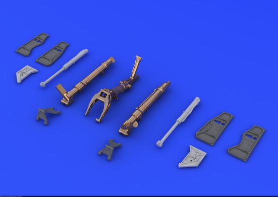 МиГ-21 шасси с бронзовыми стойками 1/48  - 1