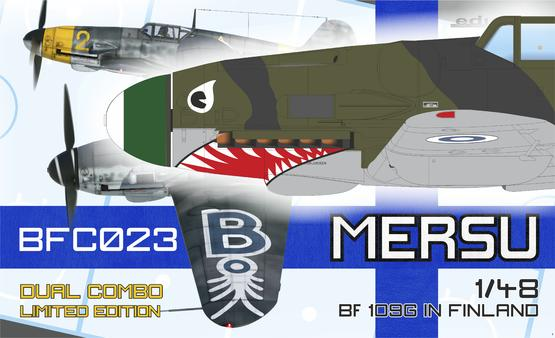 Mersu / Bf 109G in Finland Dual Combo 1/48  - 1