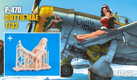 Dottie Mae w/ figure kit 1/32  - 1