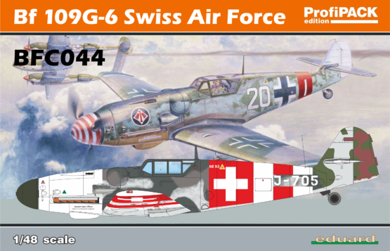 Bf 109G-6 Swiss Air Force 1/48