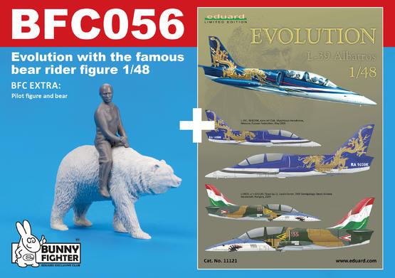 Evolution / L-39 with the famous bear rider figure 1/48  - 1