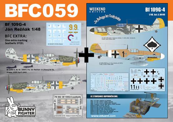 Bf 109G-4 Reznak 1/48  - 1