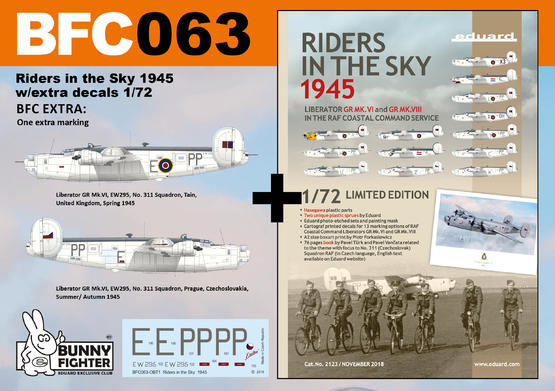 Riders in the Sky 1945 w/extra decals 1/72  - 1