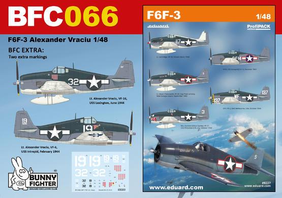 F6F-3 A. Vraciu 1/48  - 1