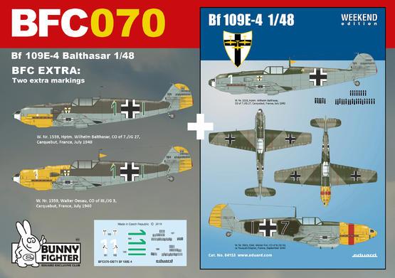 Bf 109E-4 Balthasar 1/48