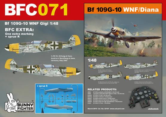 Bf 109G-10 WNF/Diana Gigi 1/48  - 1