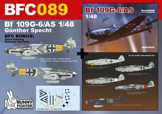 Bf 109G-5/AS Günther Specht 1/48  - 1