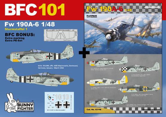 Fw 190A-6 Sturmstaffel 1/48  - 1