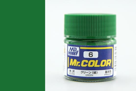 Mr.Color - зеленый