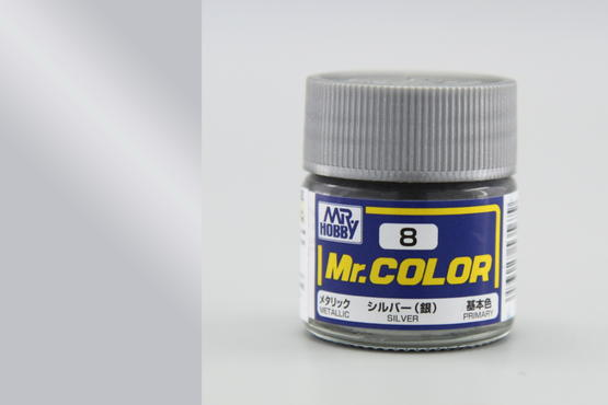 Mr.Color - silver