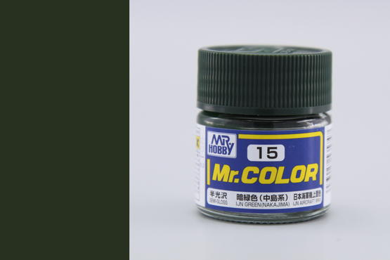 Mr.Color - IJN green (Nakajima)