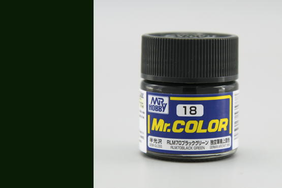 Mr.Color - RLM70 black green