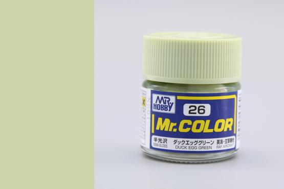Mr.Color - barva kachních vajec zelená