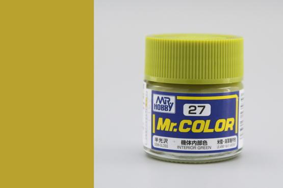 Mr.Color - interior green
