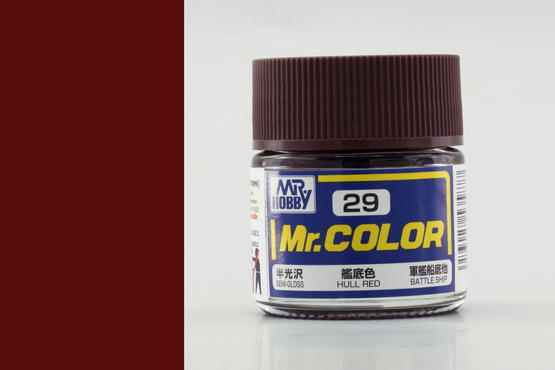 Mr.Color - Hull Red
